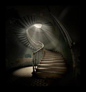 Spiral Staircase (in imgur.com/r/pics/BvHQGOX)