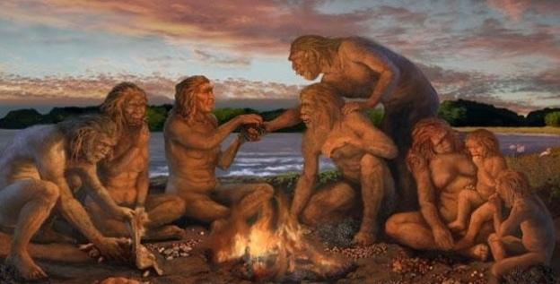 Fogueira primitivos