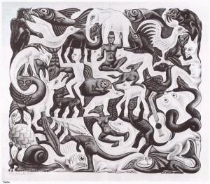 Mosaic II - M.C. Escher