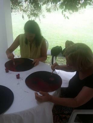 Pintura Ritual do Tai Chi