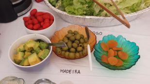almoço dos Cinco Movimentos